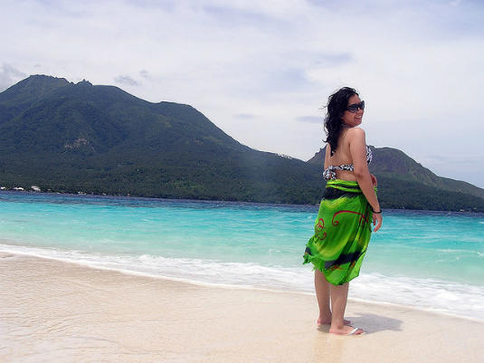 sarong, travel