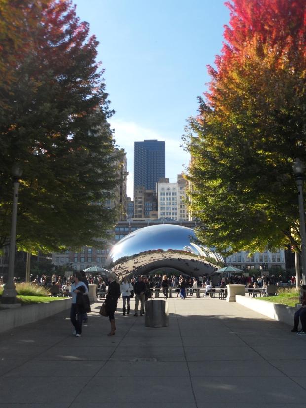 bean, millenium park, chicago