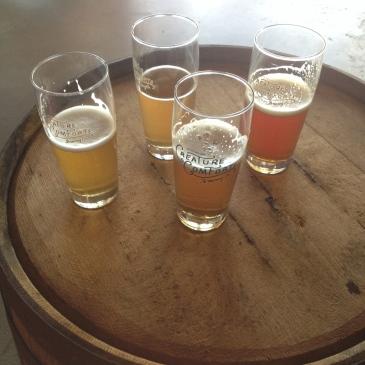 Creature Comforts beer tasting